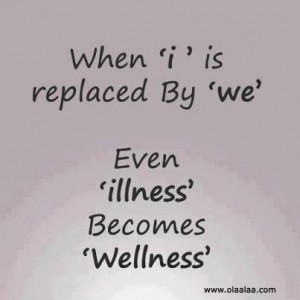 Illness and wellness-Friends-team-Quotes