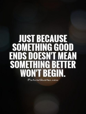 New Beginnings Quotes Just Because Quotes Beginning Quotes