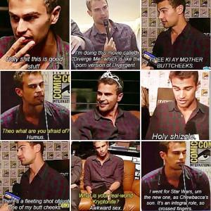 theo james Oh Tobias!!! I love you!