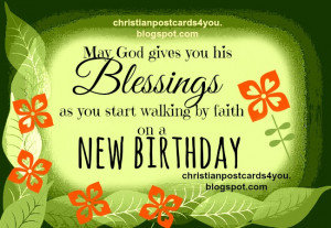 May God gives you his Blessings
