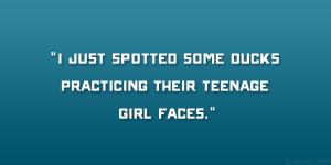 Teenage Girl Faces
