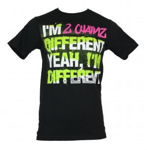Chainz-2Chainz-Mens-T-Shirt-Different-Yeah-Im-Different-Word-Logo