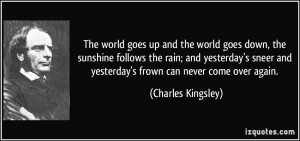 More Charles Kingsley Quotes