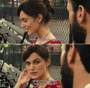 Begin Again has been added to these lists: