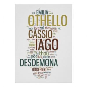 Shakespeare Othello Poster