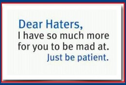 Funny Quotes about Haters and Jealousy