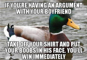 Why can't men ever win an argument with a woman?