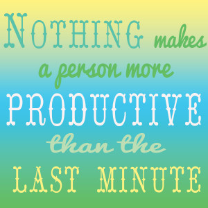 Productive Quotes