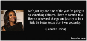 More Gabrielle Union Quotes