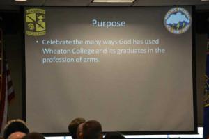 Describing the 60th anniversary event in the Spring 2012 battalion ...