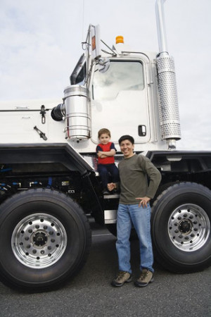 American Trucker T-Shirts for Dads That Help Move the World