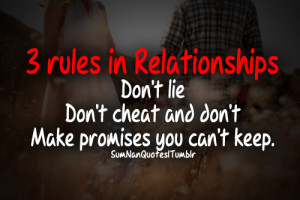 ... cheat, couple, fact, lie, life, love, pretty, promises, quote, relati