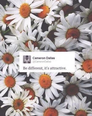 boy, cameron dallas, flowers, quotes, tumblr