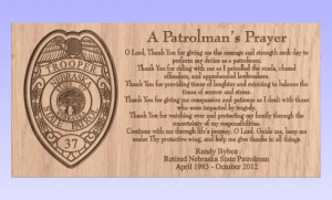 Nebraska Police Prayer