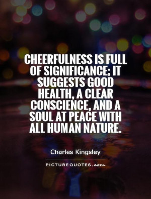 Conscience Quotes Charles Kingsley Quotes