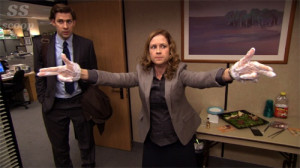 Pam Beesly is my hero.