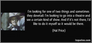 More Hal Price Quotes