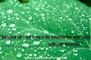 love quotes and sayings for him explaining why i love is you is like