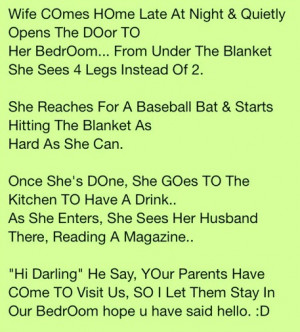 The Husband Was Clever Engineer