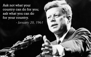 Jfk Quotes Ask Not ~ Ask Not What Your Country Can Do For You