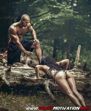 Fit couple!