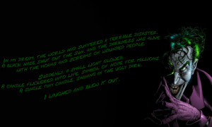 Joker Quotes Wallpaper Joker quotes hd wallpaper 13