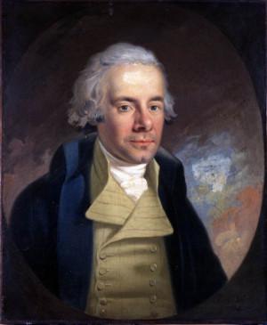 William Wilberforce, oil painting by Karl Anton Hickel, 1794