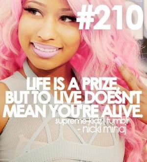 Nicki minaj, quotes, sayings, life, live, smart quote