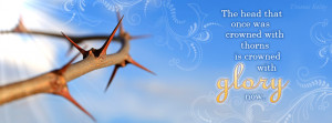 Crown of thorns Facebook Cover