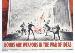 by the Office of War Information. This poster featuring a quote ...
