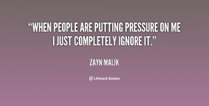 Quotes About Pressure In Life