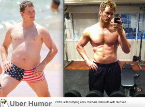 """Chris Pratt (Andy from """"Parks and Recreation"""") since completing ..."""