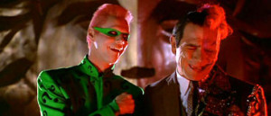 The Riddler ( Jim Carrey ):