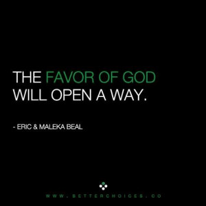 God Favor Quotes And Stuff
