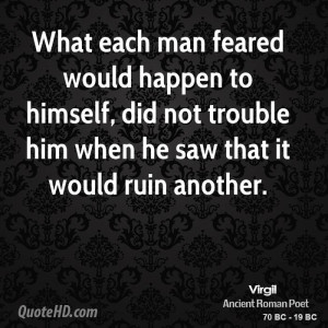 Virgil Quotes