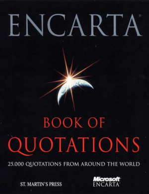 Microsoft The Encarta Book of Quotations