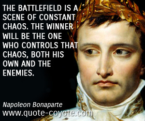 ... chaos both his own and the enemies 0 0 0 0 chaos quotes win quotes