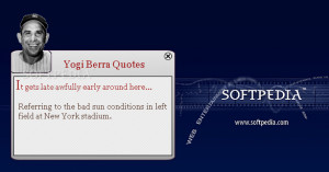 Yogi Berra Quotes - After installing this widget you will be able to ...