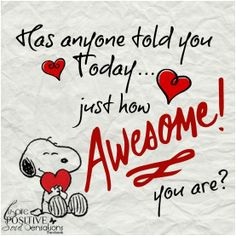 Let me be the first! You're all awesome!! :) More