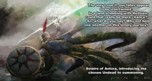 Solaire of Astora - Dark Souls