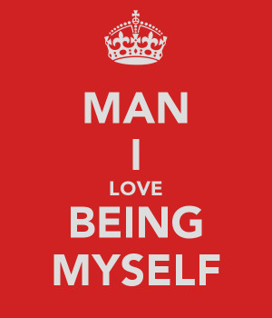 love being me quotes