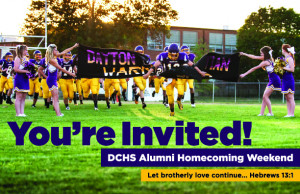 DC ALUMNI HOMECOMING WEEKEND - October 4th and 5th!