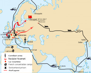 Description Russia World War I Western Front.svg