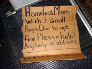 ... homeless people – and their department took nearly two months to