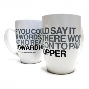 Edward Hopper Quote Mugs