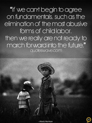 If we can't begin to agree on fundamentals, such as the elimination of ...
