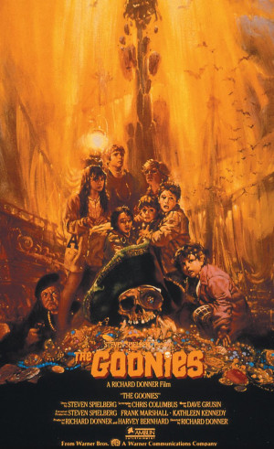 The Goonies (1985) Sean Astin, Josh Brolin, Corey FeldmanMovie Posters ...