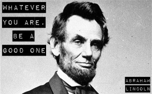 Famous Quotes Abraham...