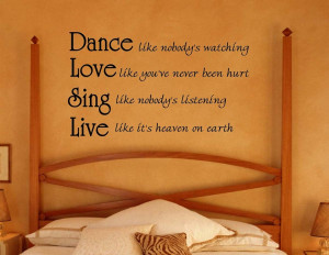 Dance Like Nobody's Watching | Inspirational Words