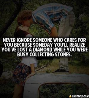 Ignore Quotes You Are Ignoring